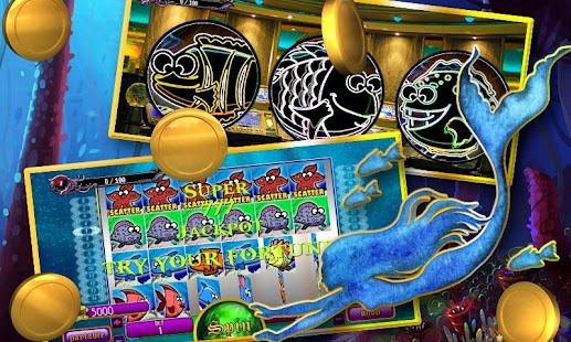 Super Jackpot Underwater Lucky Slots Real Casino - náhled