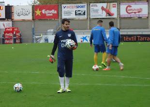 Photo: DANI CASTILLA, portero Palamos CF 2014/15