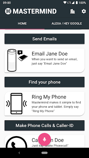 Mastermind Voice AI - Alexa, Google & workplace AI 2.0.1-PROD screenshots 5