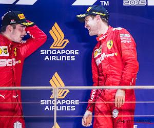 """Ferrari na de aanrijding in Brazilië: """"Vettel en Leclerc hebben intussen alles kunnen uitpraten"""""""