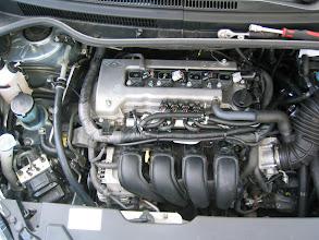Photo: Motorraum nach Umbau mit Abdeckung