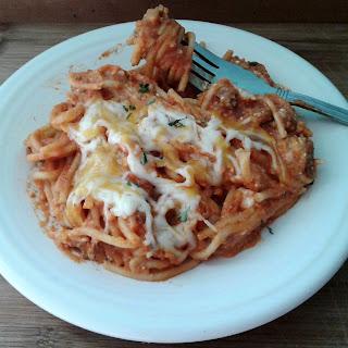 Slow Cooker Cheesy Spaghetti Recipe
