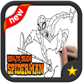 Tải Game how to draw spiderman