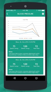 E-Health Care Tracker- screenshot thumbnail