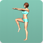 Aerobics workout at home - endurance training 2.3