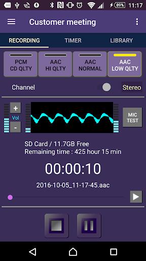 tag VoiceMemo - timer ,2x speed ,repeat func 1.5.5 Windows u7528 1