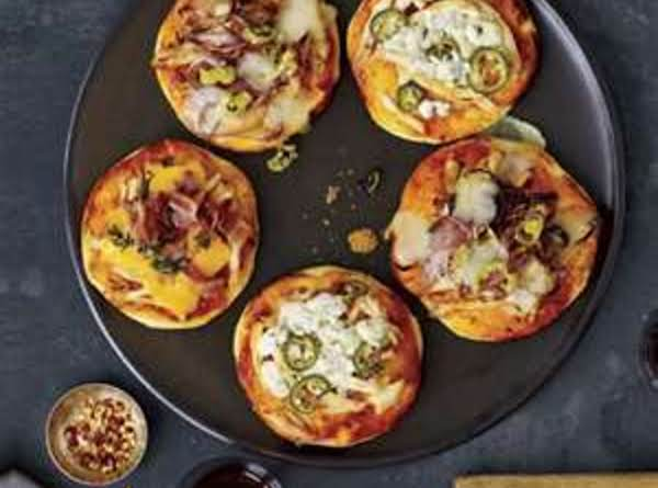 Grilled Pizza Mini's