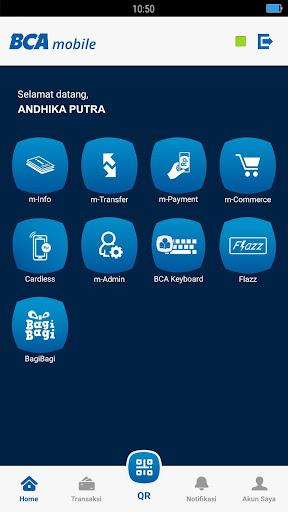 BCA mobile screenshot 2
