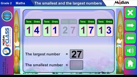MiDas eCLASS Maths 2 Demo screenshot 2