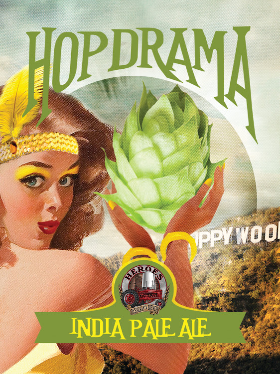 Logo of Heroes Hopdrama India Pale Ale