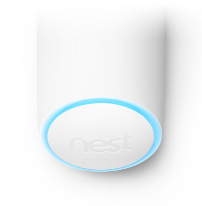 secure detect light ring blue