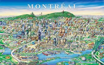 Photo: Downtown Montréal Geografix communications Inc 1999