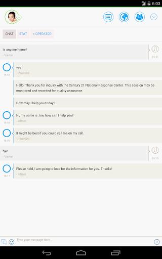 Century 21 Live Chat