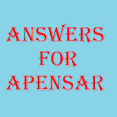 Answers for Apensar