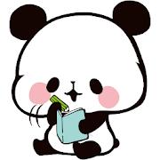 Sticky Note Mochimochi Panda