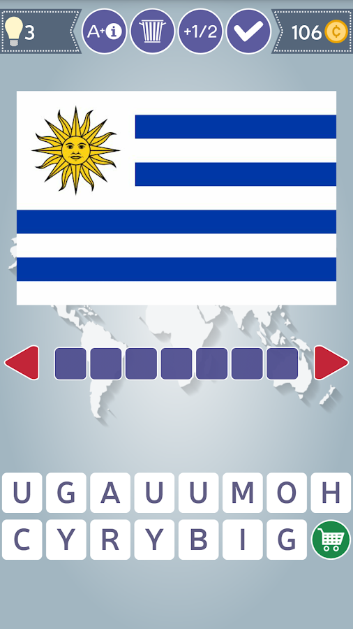Flags of the World Quiz- screenshot