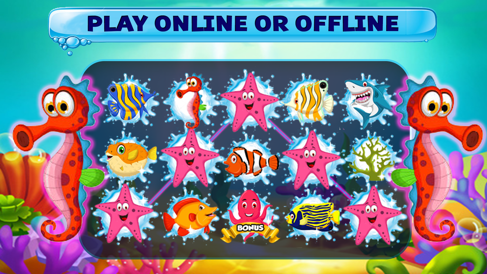 Big golden fish slots casino android apps on google play for Big fish slot