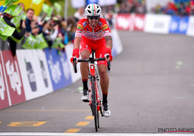 Tour des Apennins : trois Italiens sur le podium