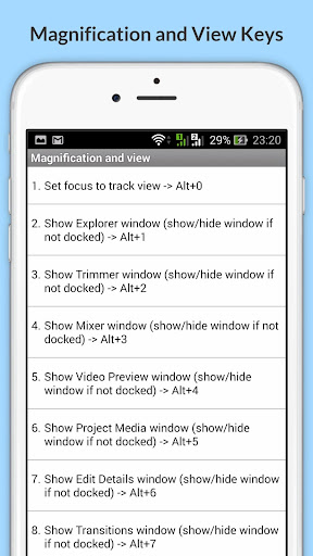 Free Sony Vegas Pro Shortcuts for PC