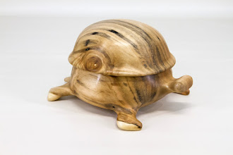 "Photo: Steve Haddix 6"" x 4"" ""Beads of Courage"" tortoise box ""Mosley"" [maple]"