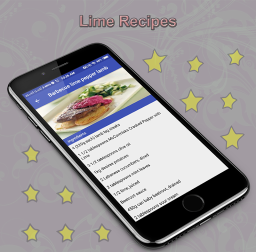 Lime Recipes 1.0 screenshots 9