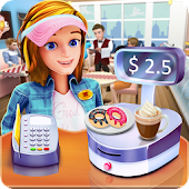 Coffee & Donut Cash Register