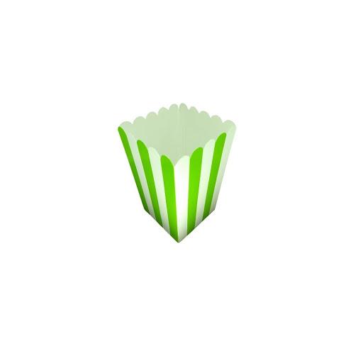 Cotufera Altolitho Verde Estampadas Circulos/Rayas 8Und