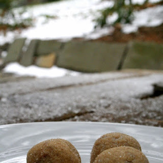 Gingersnap Cookie Dough Truffles