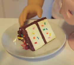 Photo: It's confetti cake! Confetti makes everything more fun!