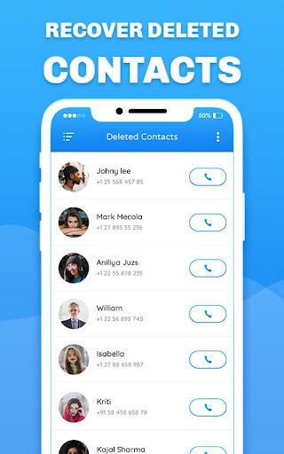 Recover Deleted All Contacts screenshots 4