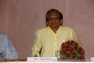 """Photo: Shri Anil Bokil, creator of ArthaKranti Proposal Change for Better Release Function November 13, 2011. Shri. Suresh Prabhu, former Union Minister released """"Change for Better"""" at HMCT Auditorium, Pune"""