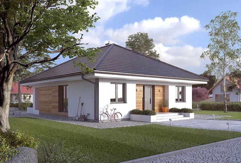 Projekt domu Elka 4