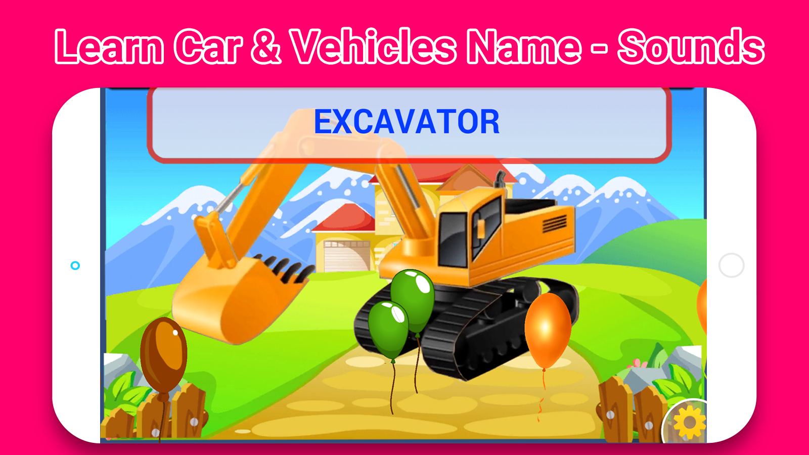 Top Learn Car & Vehicles Name -Sounds for Toddlers- screenshot