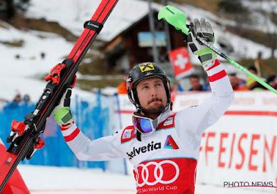 Marcel Hirscher renoue avec le succès
