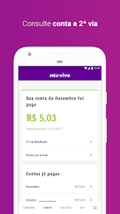 Meu Vivo Móvel Screenshot