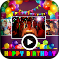 Birthday Video Maker With Song And Name And Photo