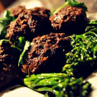 """Mushroom """"Meat"""" Balls (Vegan and Vegetarian) Recipe"""