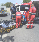 Paramedics helped patients who had collapsed