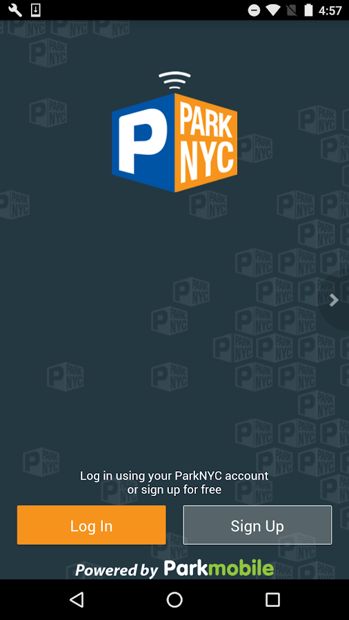 ParkNYC powered by Parkmobile- screenshot