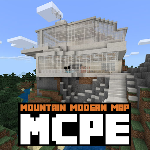 App Insights: Mountain Modern House Map For MCPE | Apptopia