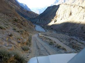 Photo: track to Hushe