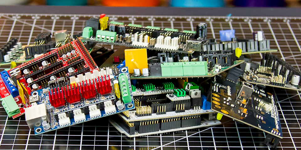 The Anatomy of a 3D Printer: Controller Boards