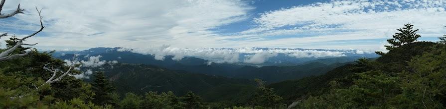 恵那山からの展望(北東側)