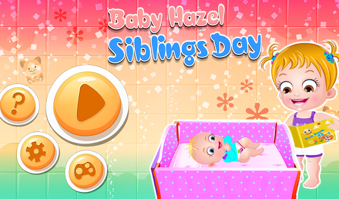 Baby Hazel Siblings Day screenshot