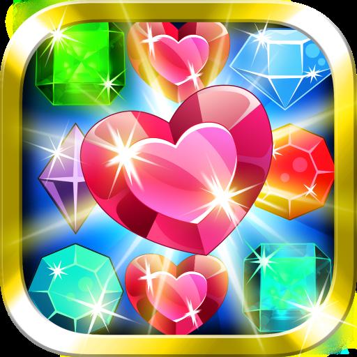 スウィートジュエルブラストマッチ3 休閒 App LOGO-APP試玩
