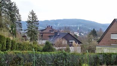 Photo: Auf dem Gelling: Blick zur evangelischen Kirche an der Kölner Straße bzw. Lindenstraße in Haspe.