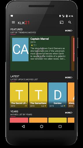 Nonton Captain Marvel Full Movie : nonton, captain, marvel, movie, Klik21, Nonton, Download, Android