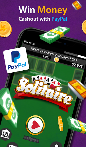 Solitaire - Make Free Money and Play the Card Game apkmr screenshots 2