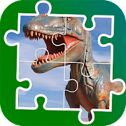 Game Dinosaurs Puzzle apk for kindle fire