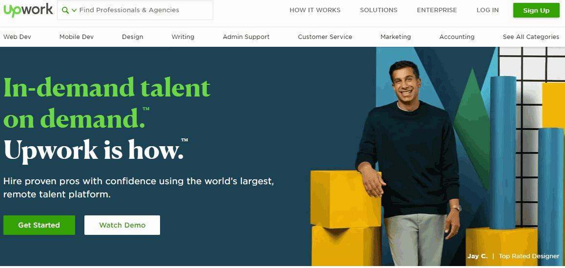 UpWork Situs Freelance